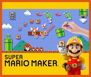 Super Mario Maker Wii U Nintendo E3 2015