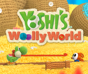 Yoshi Wooly World Wii U Nintendo E3 2015