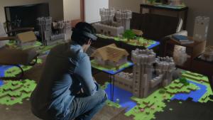 Hololens Minecraft Microsoft E3 2015