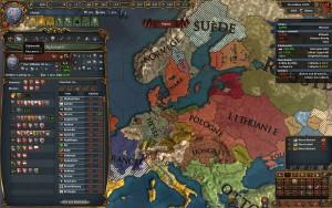 Europa Universalis Ecran diplomatique