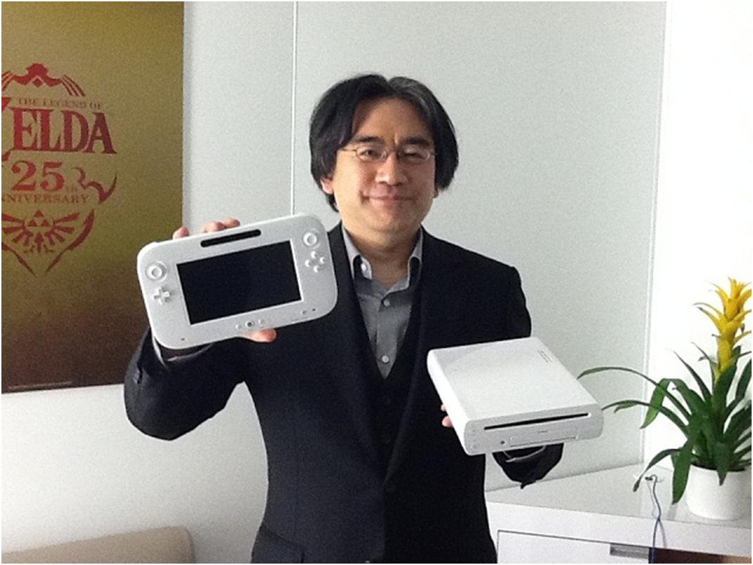Iwata et la Wii U