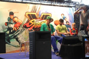 Japan Expo 2015  Street Fighter 5