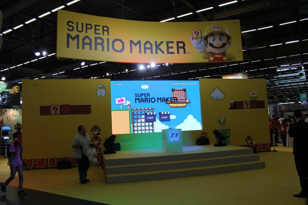 Japan Expo 2015 Super Mario Maker