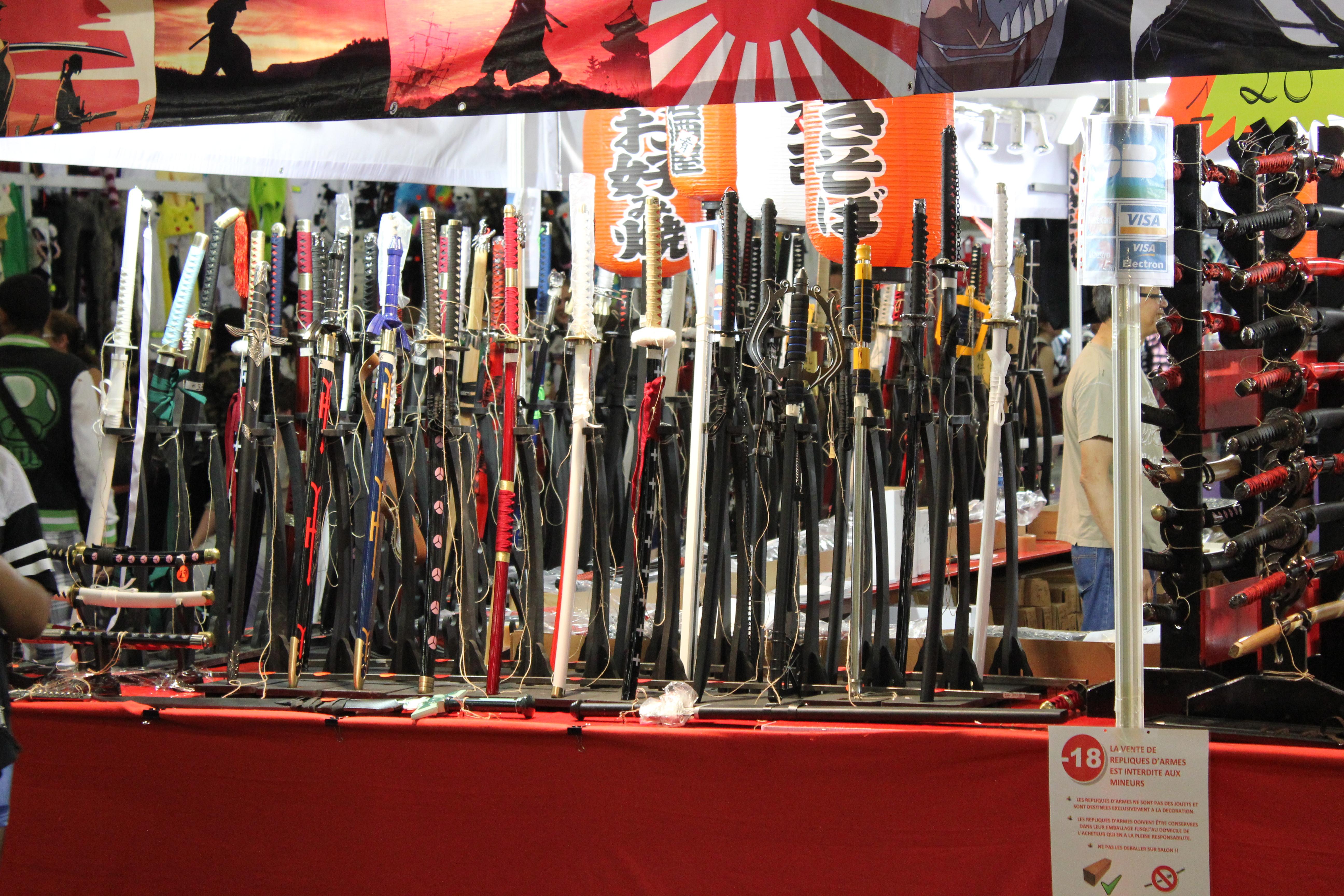 Stands Japan Expo 2015 : Japan expo des stands pour tous les goûts