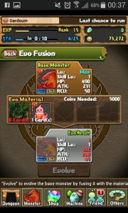 Puzzle And Dragons Evolution