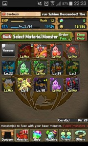 Puzzle And Dragons Monstres