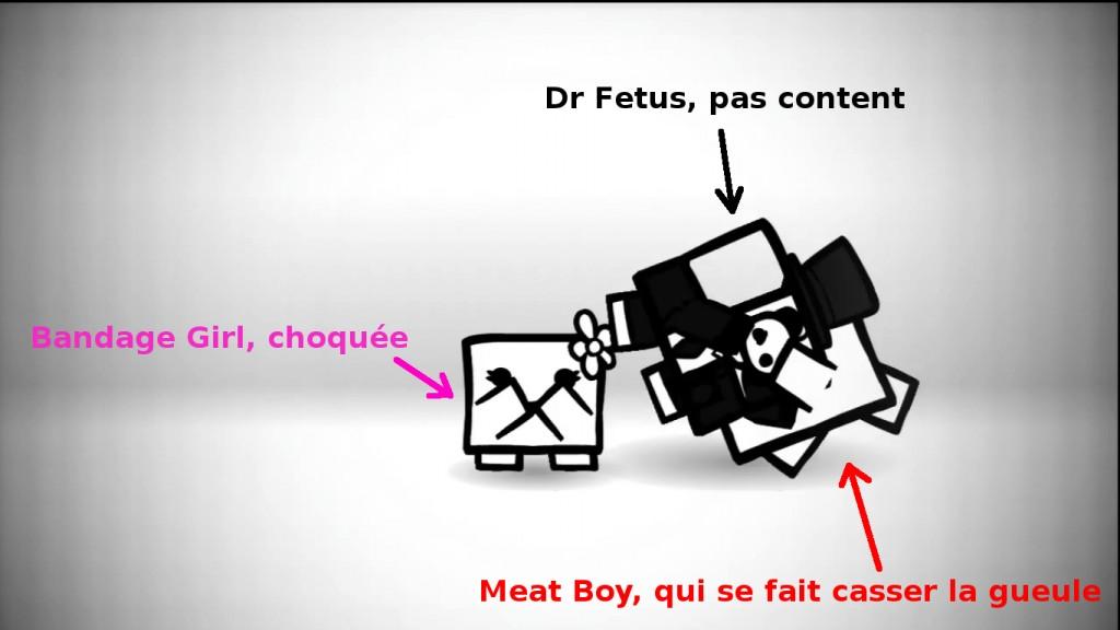 Super Meat Boy Fetus Bandage Girl