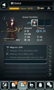 Terra Battle Fiche personnage