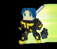 Trove néon ninja