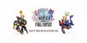 World Of Final Fantasy Square Enix E3 2015