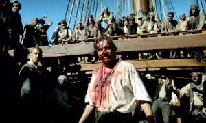Flint et l'équipage Black Sails