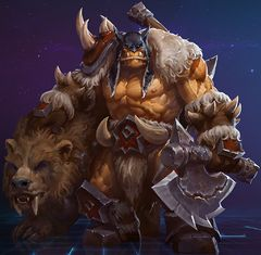 Blizzard Gamescom 2015 Heroes of the Storm Rexxar