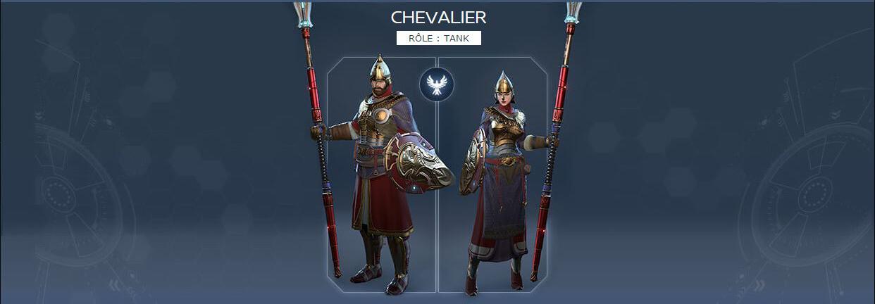 Classes de SkyForge Chevalier