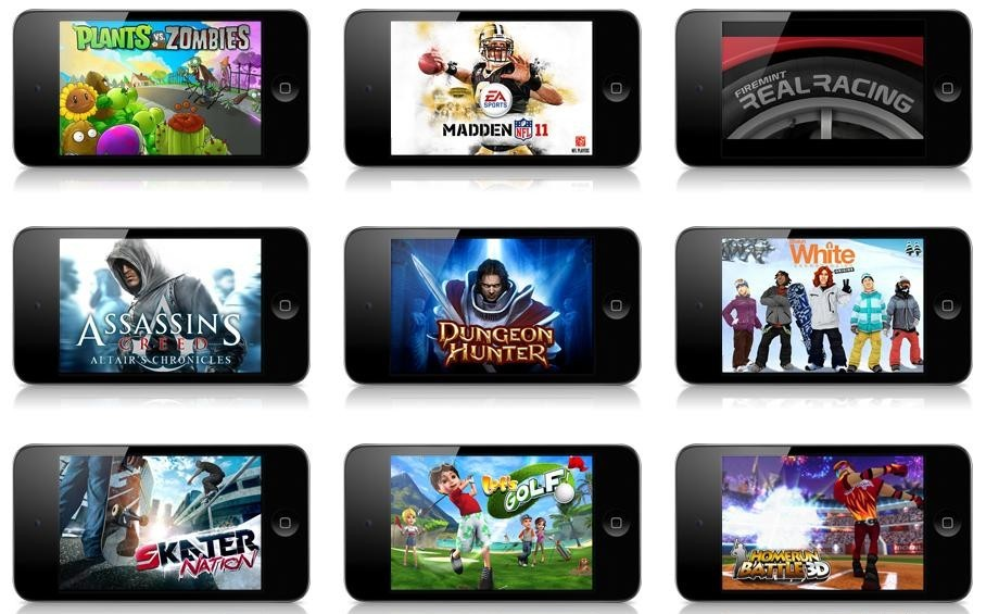 smartphone gaming jeux