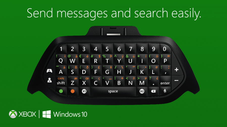 Microsoft Gamescom 2015 Clavier Xbox One
