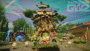 Plants vs Zombies Garden Warfare 2  EA Gamescom 2015