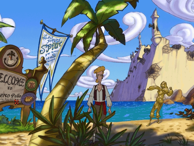 The Curse of Monkey Island Début