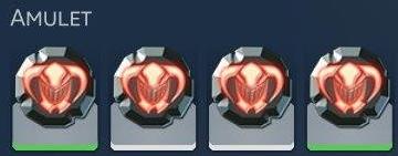 Amulettes équipement de Skyforge