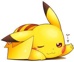 Pikachu vous souhaite une agréable journée