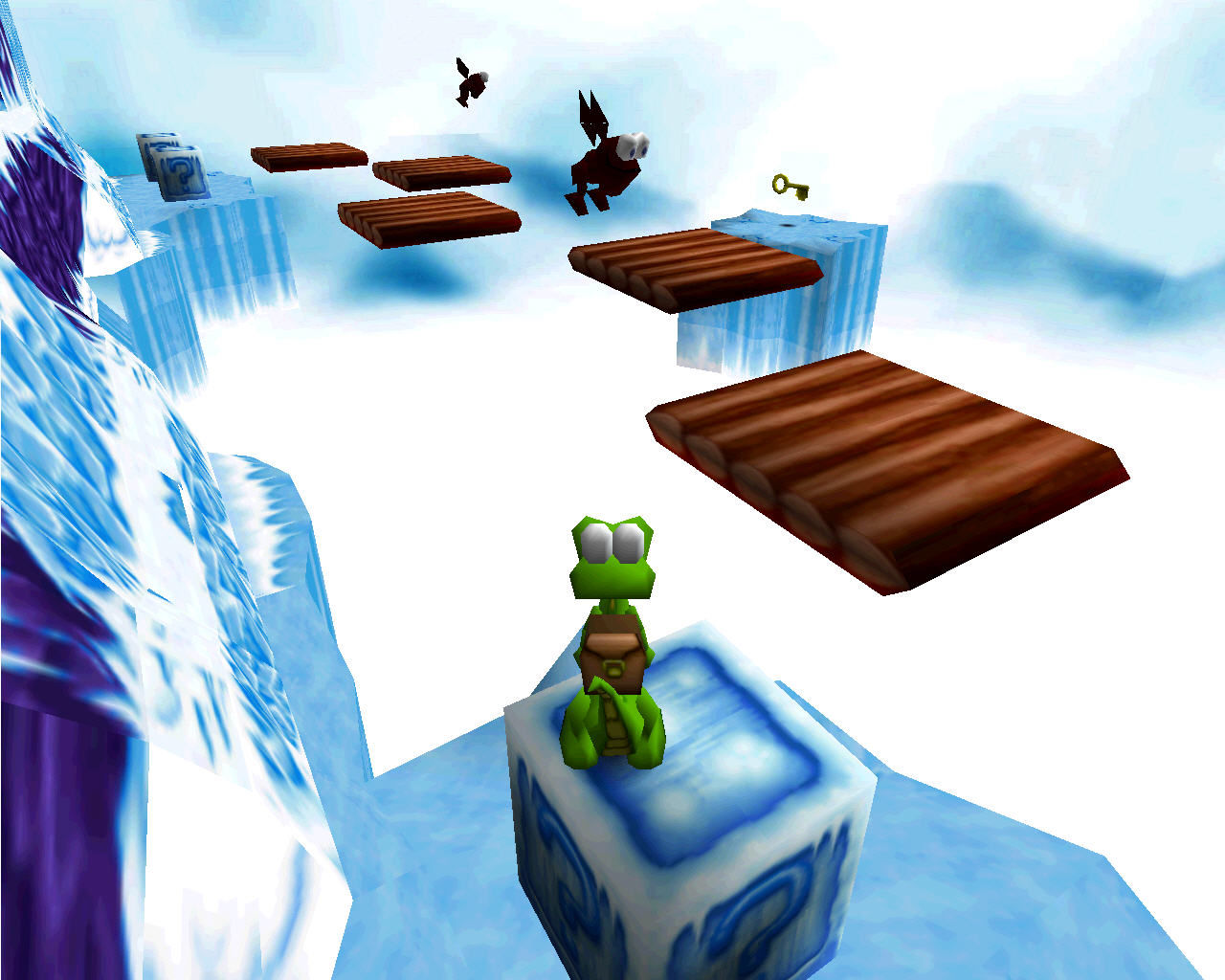 Monde de glace Croc : Legend of the Goboss