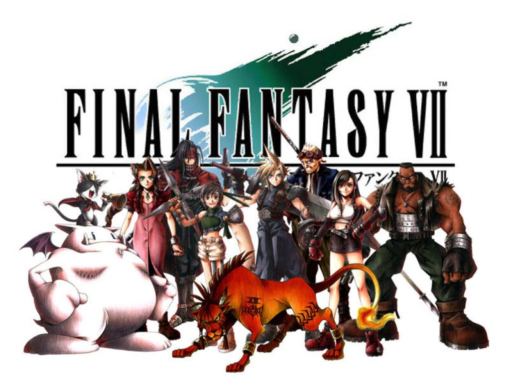Final Fantasy VII personnages