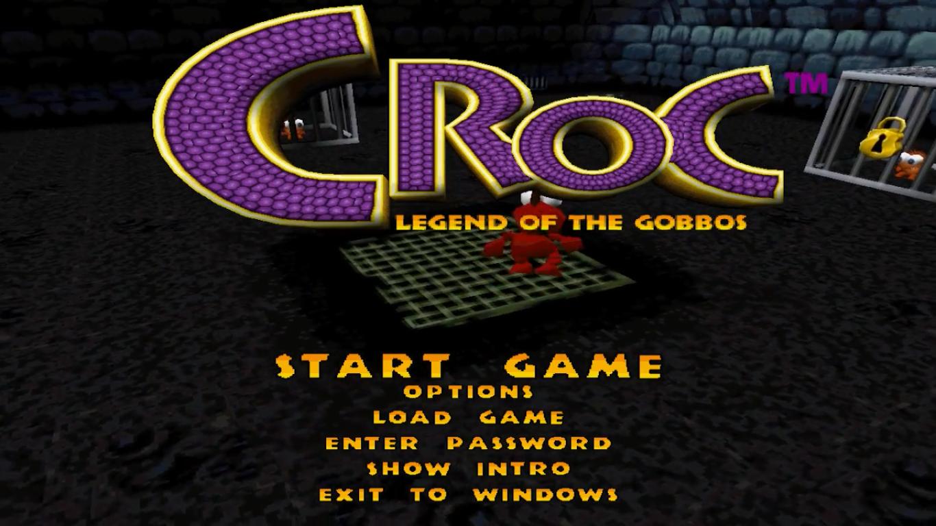 Croc : Legend of the Goboss écran titre