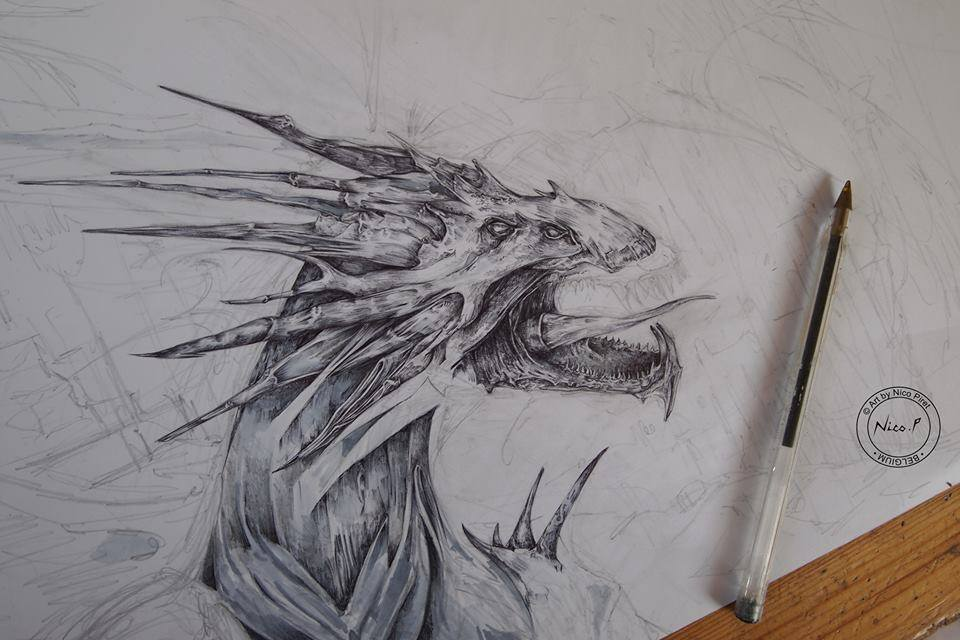 Bluedraw Nico Piret Black Dragon