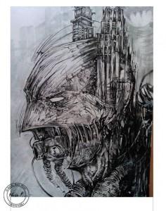 Bluedraw Nico Piret Necro-Batman