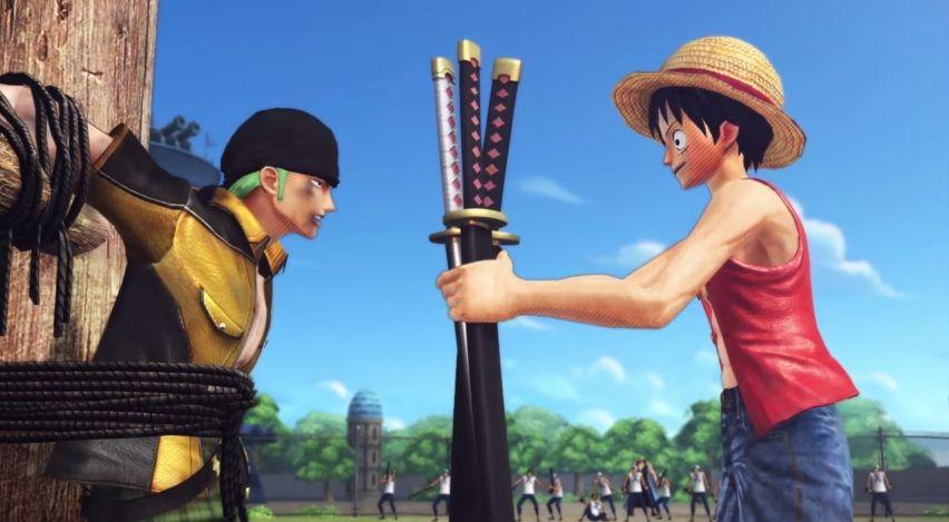 One Piece Pirate Warriors 3 Zoro Luffy