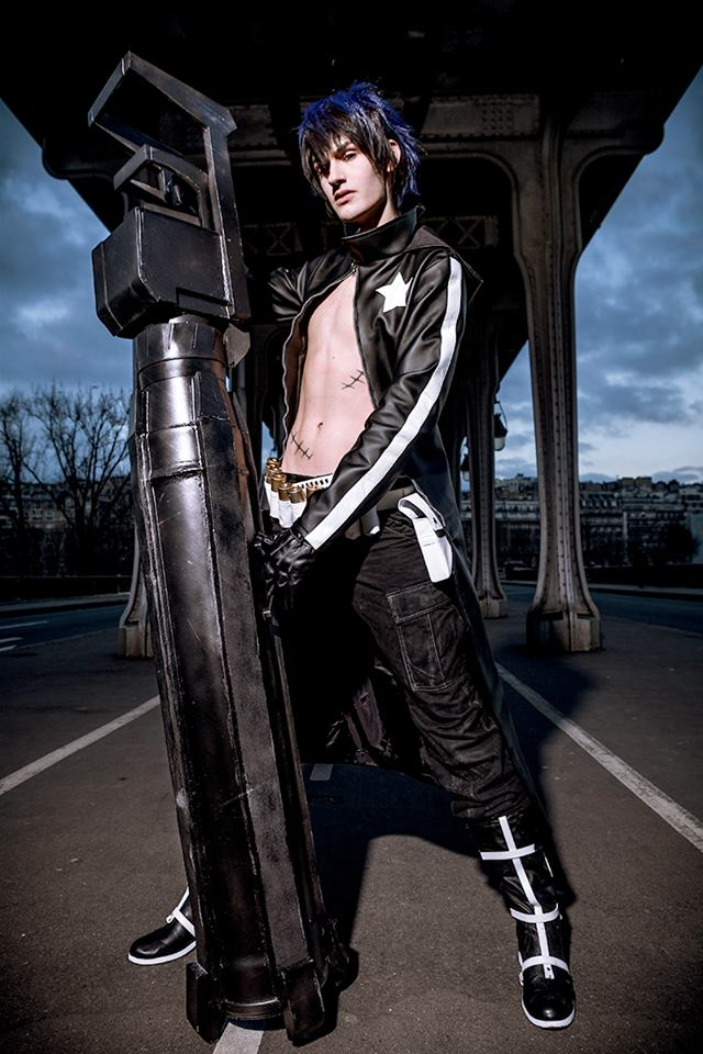 Shunsuke Cosplay Black Rock Shooter Genderbend