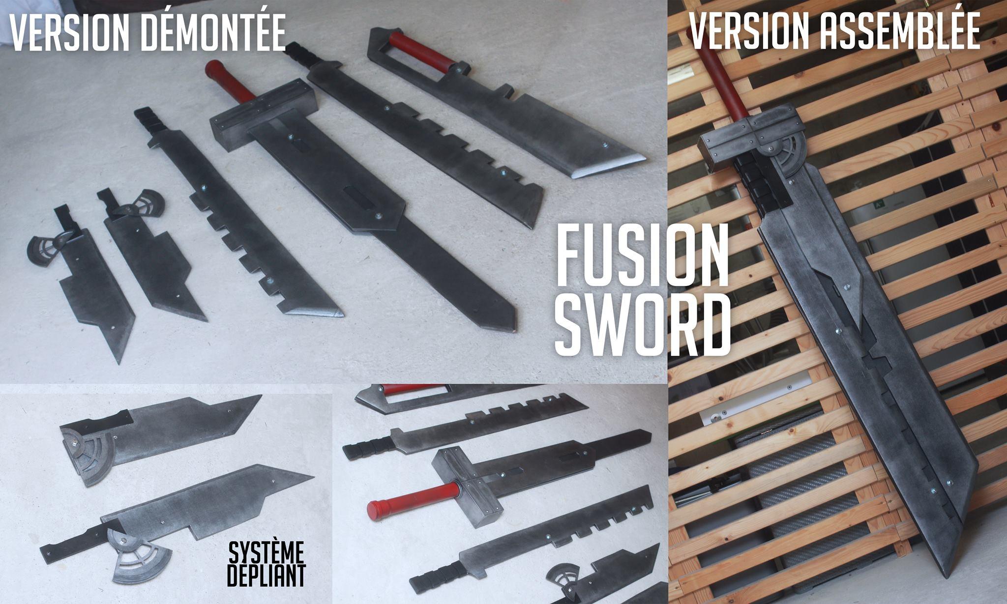 Shunsuke Cosplay Fusion Sword