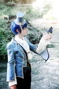 Shunsuke Cosplay Kaito Alice in Musicland