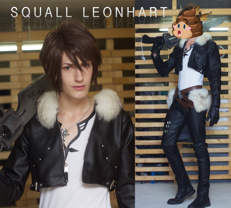 Shunsuke Cosplay Squall Leonheart