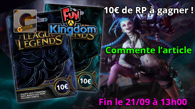 Concours 10€ RP