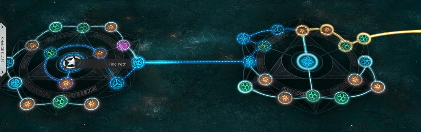 Skyforge - Choix du chemin atlas ascension