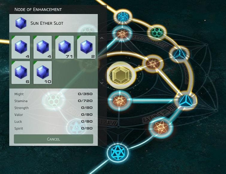 Skyforge - Emplacement ether atlas ascension