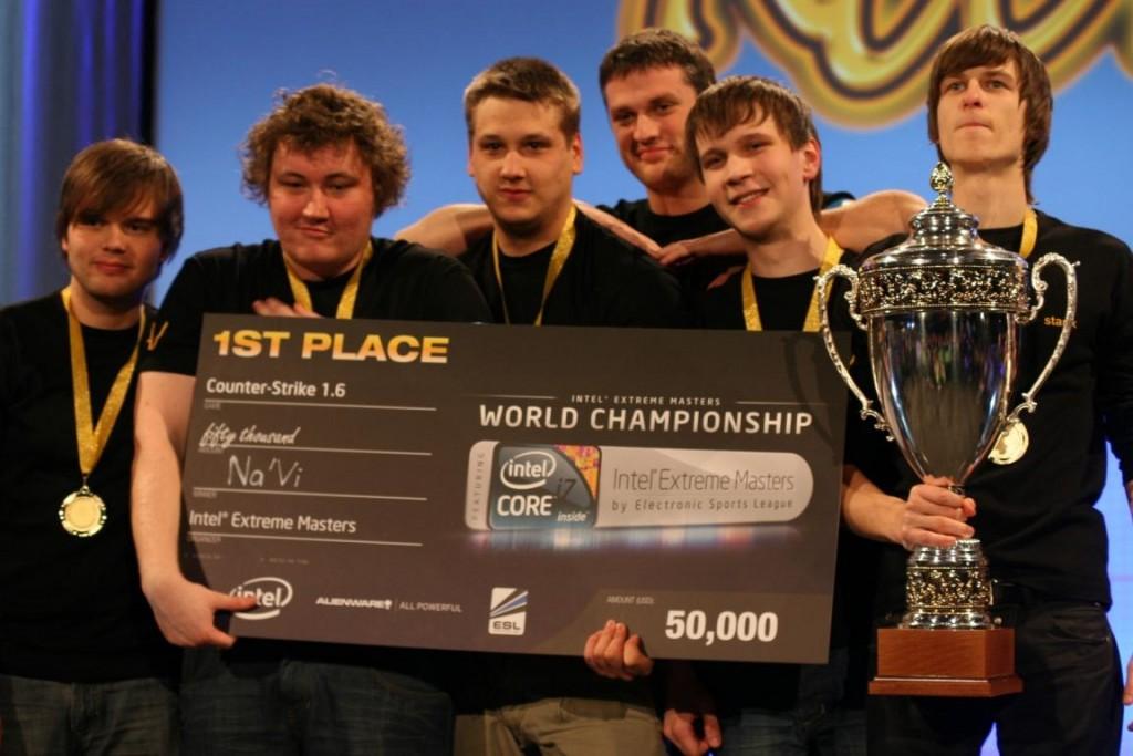 Na'vi gagnants de CS, jeu de l'e-sport