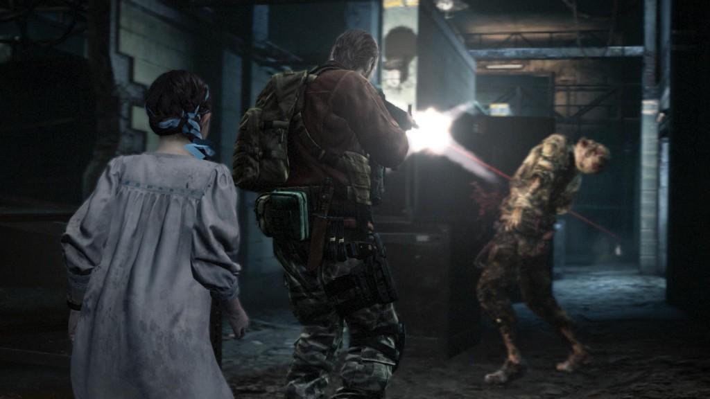 Resident Evil : Revelations 2 Natalia et Barry