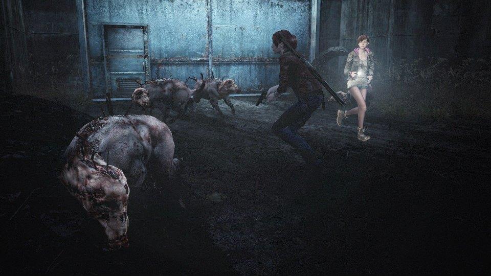 Porcs zombies dans Resident Evil : Revelations 2
