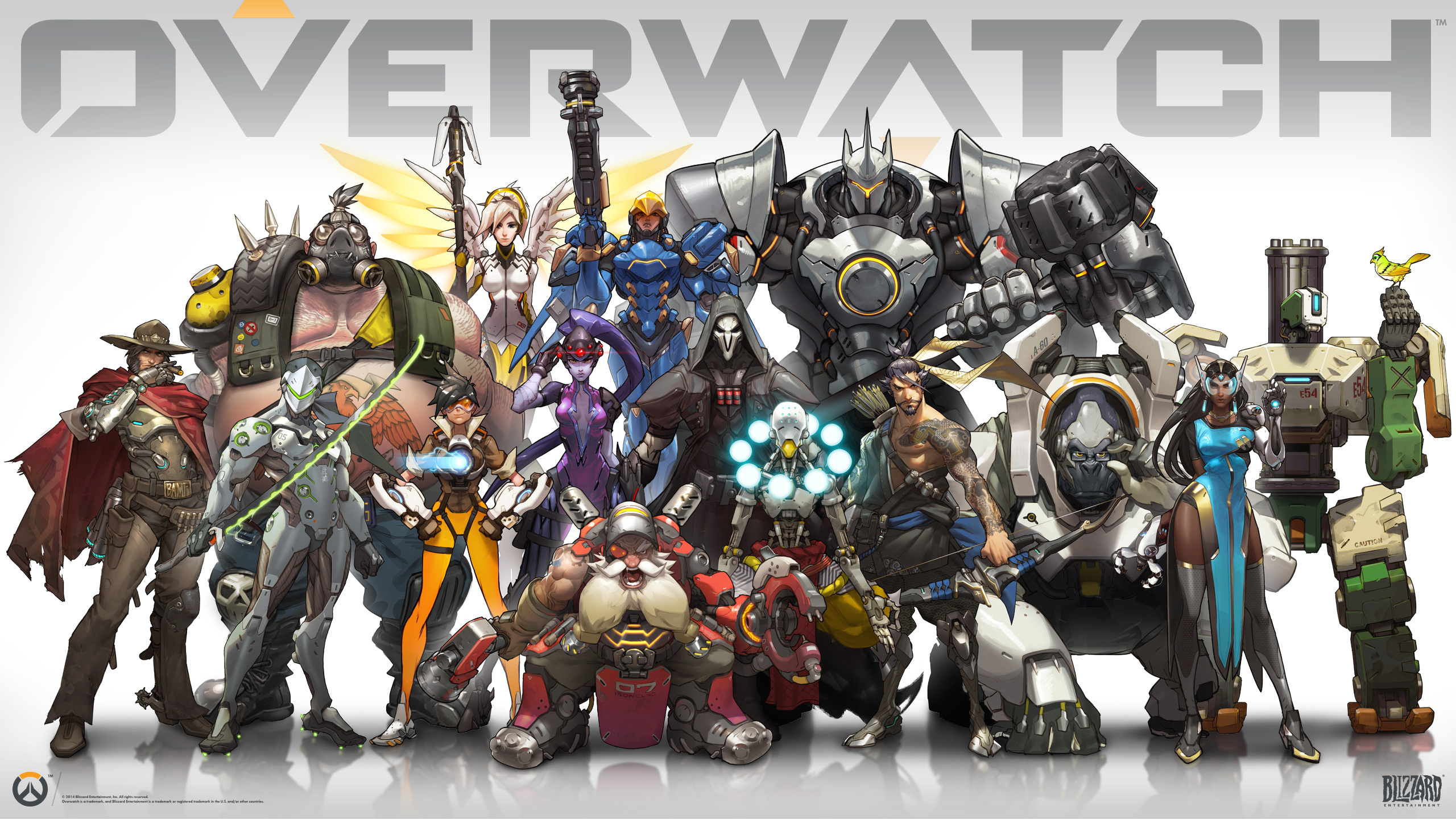 Overwatch - Lineup personnages