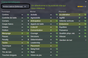 Football manager Caractéristiques