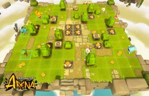 Krosmaster Arena map