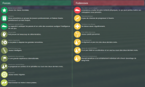 Football manager Le rapport