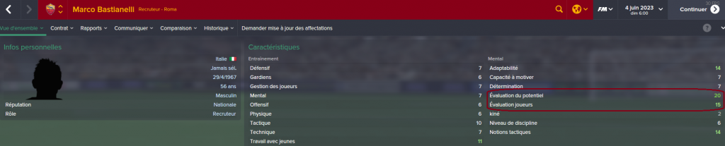 Football manager Le recruteur