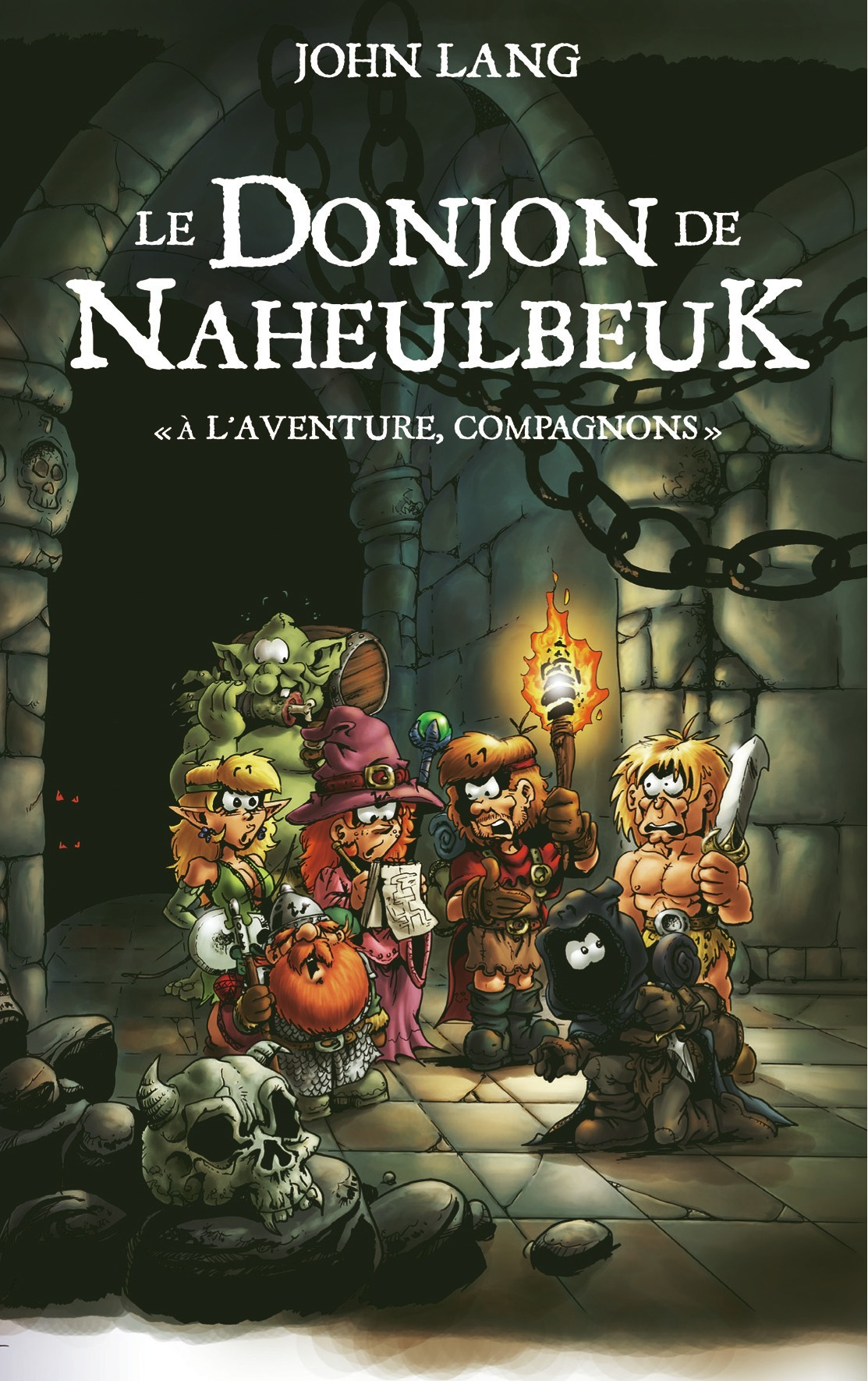Naheulbeuk - Roman Aventure Compagnons