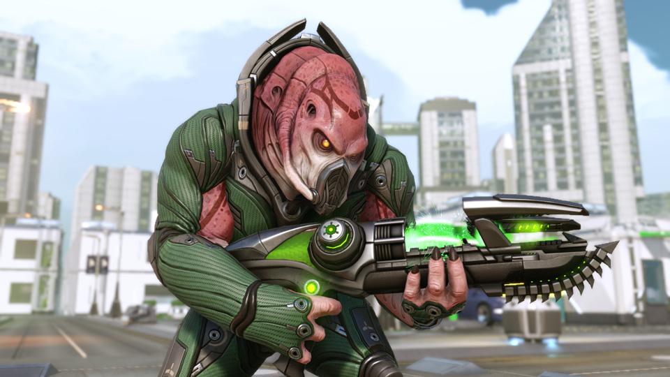 XCOM 2 - Alien Guerrier