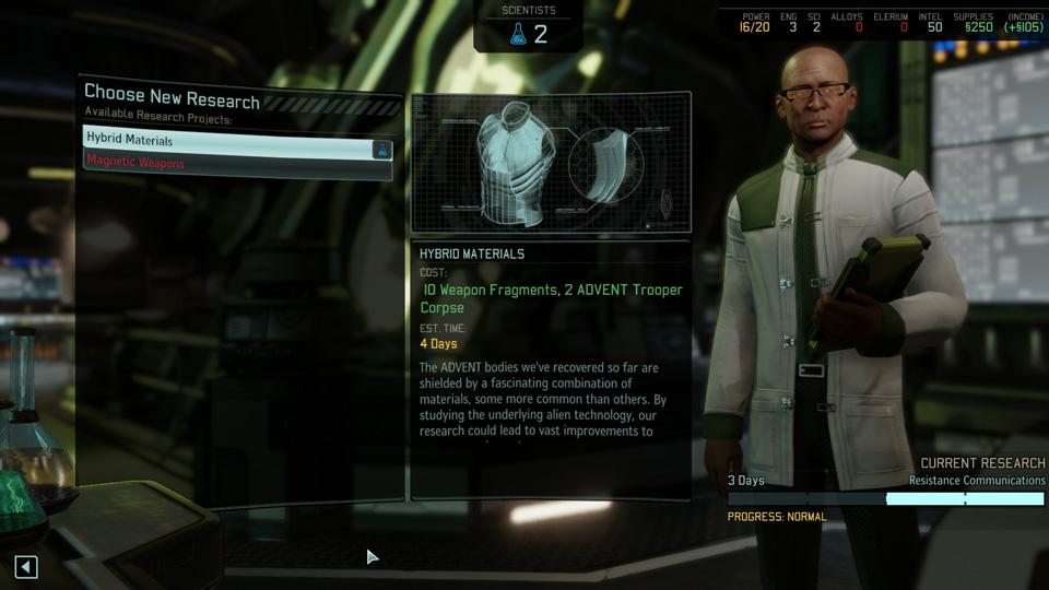 XCOM 2 - Laboratoire