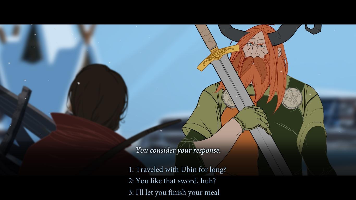 The Banner Saga - Dialogues