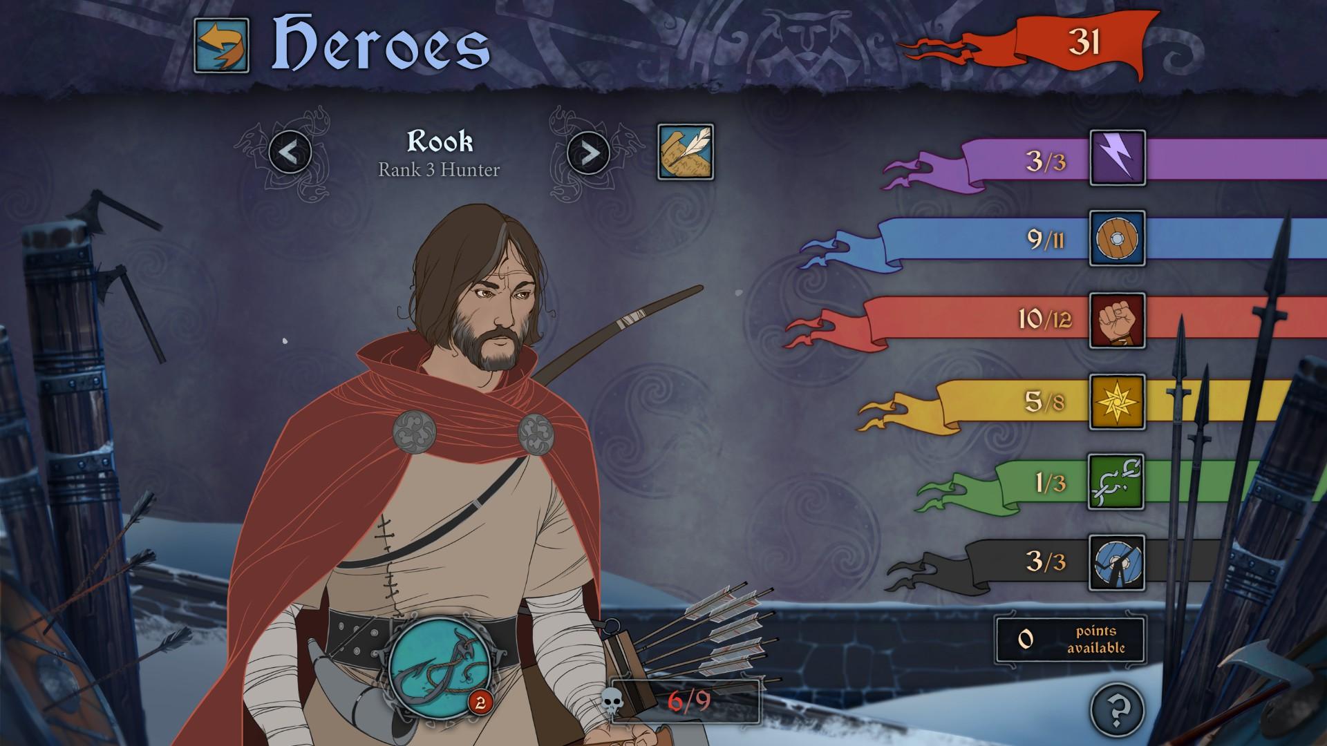 The Banner Saga - Rook