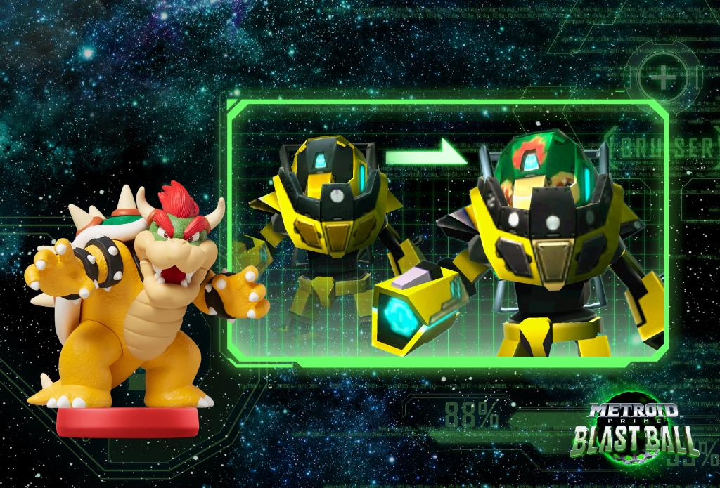 Metroid Prime Federation Force Amiibo Bowser